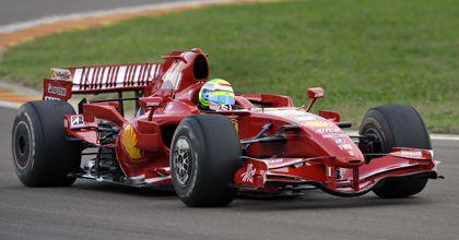 Massa volvió a manejar un Fórmula Uno