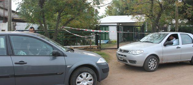 La casa donde fue encontrado sepultado el cuerpo de Chiara Páez