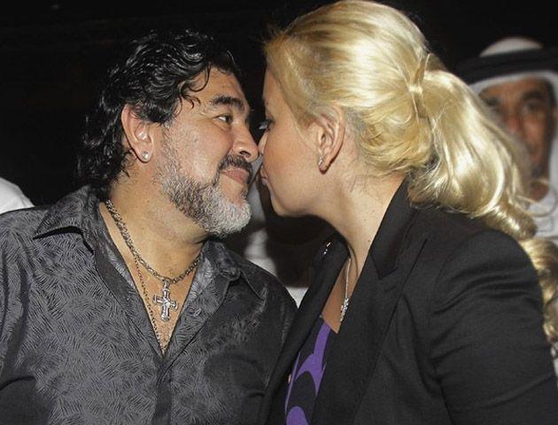 Diego se comunicó con la rubia para saludarla el dia de su cumpleaños.