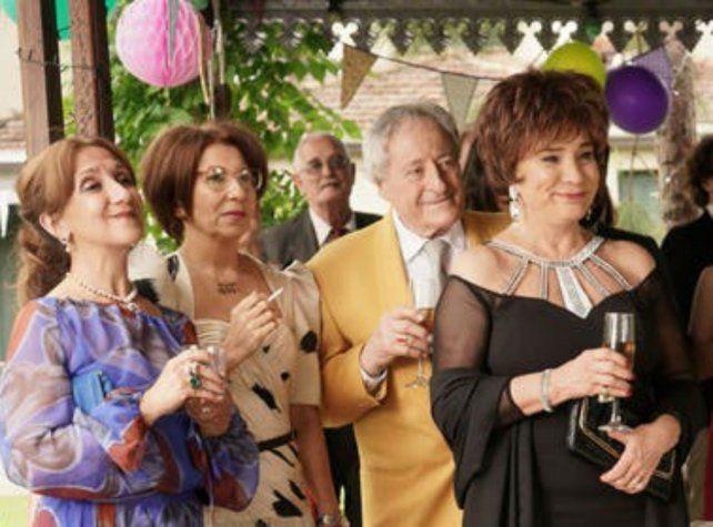Betiana Blum y un gran elenco en El día que me muera.