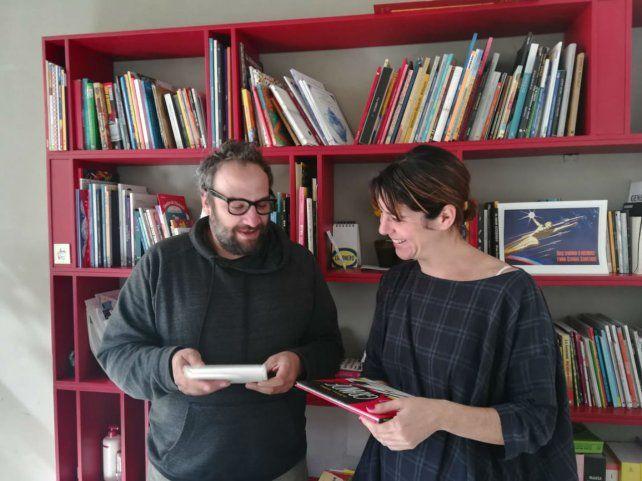 Manuel Rud y Lulú Kirschenbaum