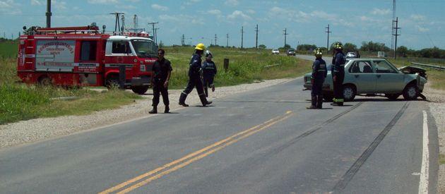 Numerosos accidentes se han producido en el trayecto que va de Cañada Rosquín y Pellegrini