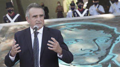 Agustín Rossi encabezó el acto junto al intendente Pablo Javkin y la vicegobernadora Alejandra Rodenas.