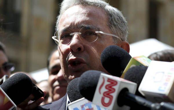 De regreso. El ex presidente Uribe hizo una gran elección al Senado.