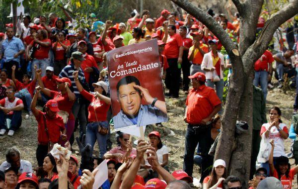 El gran ausente. Ayer el chavismo recordó los 14 años del inicio de la primera presidencia de Hugo Chávez.