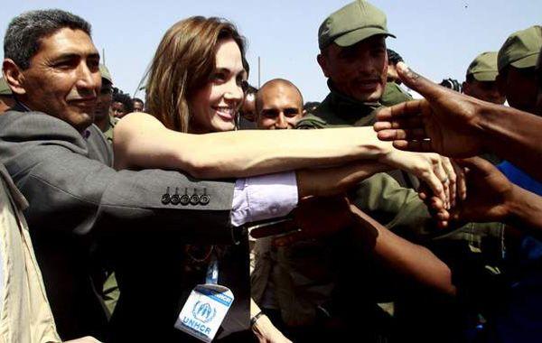 Angelina Jolie, indignada con las violaciones que se dan en la guerra