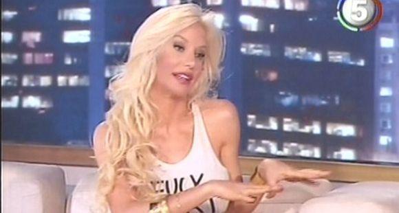 Luli Salazar fue a cantar a lo de Susana pero no evitó hablar de Redrado (video)