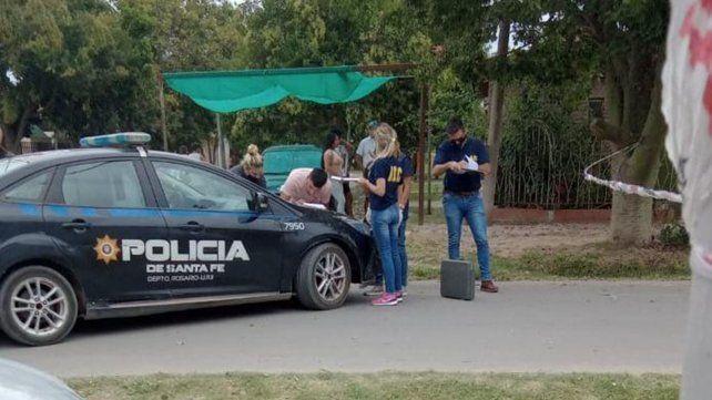 El ataque a tiros ocurrió en García González al 1000 del barrio Coronel Aguirre Villa Gobernador Gálvez