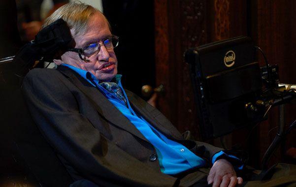 Asombroso. Hawking