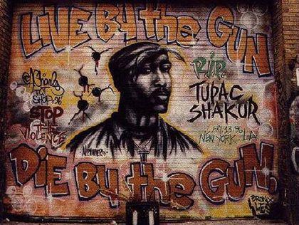 El rapero Tupac Shakur lidera una lista de sobrevalorados en la música