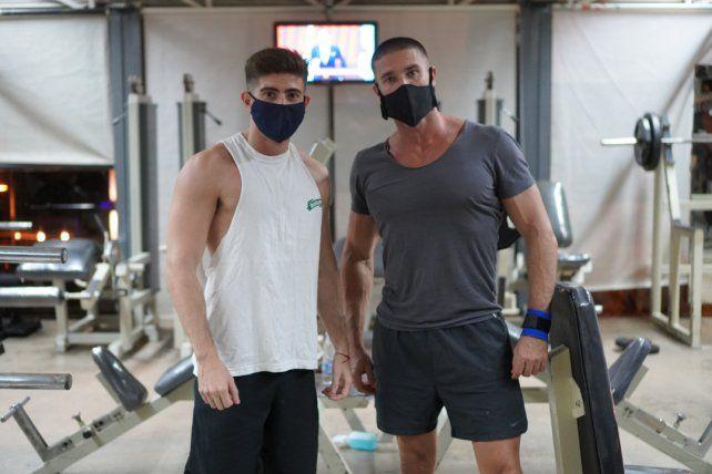 Danilo Castaggeroni y Lucas Wojtasik