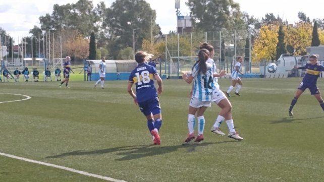 Natalie Juncos abrió la cuenta para la academia (17) y Estefanía Palomar logró el empate ya en tiempo de descuento.