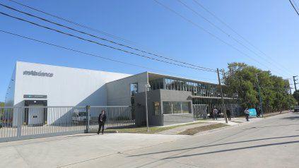 La planta de mAbxience en la provincia de Buenos Aires que fabrica el principio activo de la vacuna. El cuello de botella está en Mexico, asegura su dueño.
