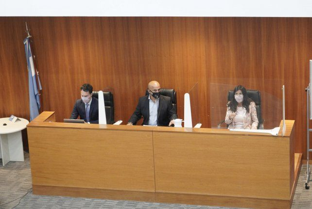Los jueces Nicolás Foppiani