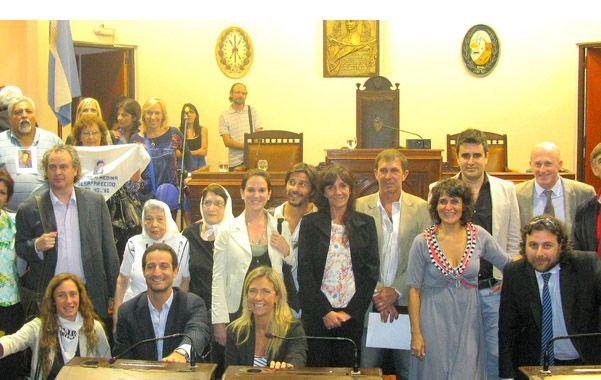 El Concejo Municipal de Rosario reconoció ayer como Institución Distinguida de la ciudad al Equipo Argentino de Antropología Forense (Eaaf).