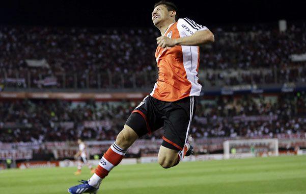 El delantero uruguayo señaló que River es un equipo que tiene jerarquía y que va a llegar de la mejor manera al partido con Boca.