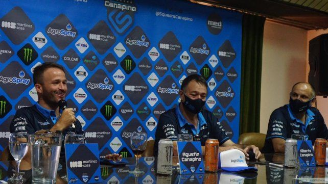 Agustín y Alberto Canapino