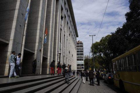 A 10 meses de iniciada la investigación penal se conoció ayer la condena contra Luciano García Montaño y Jorge Heter. (Foto archivo: C.M.Lovera)