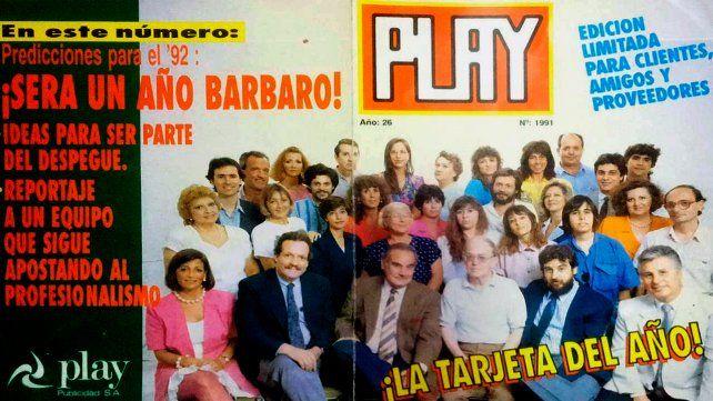 Los integrantes de la agencia Play de finales de los 90