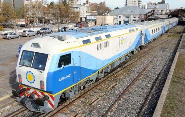 Nuevos. Los convoyes son similares a los que unirán Rosario con Buenos Aires.