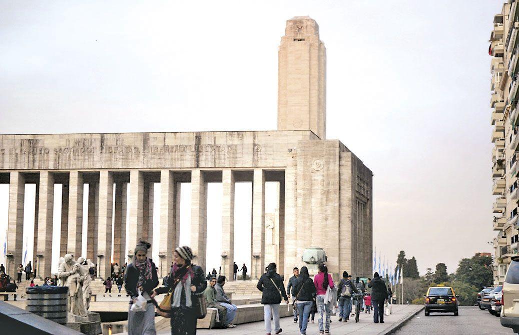 El Monumento fue uno de los sitios más concurridos. Unas 10 mil personas pasaron por el Patio Cívico.