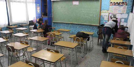 El gobierno provincial suspendió las clases hasta el fin de las vacaciones