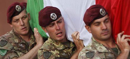 Afirman que Italia pagó sobornos a los talibanes para evitar ataques