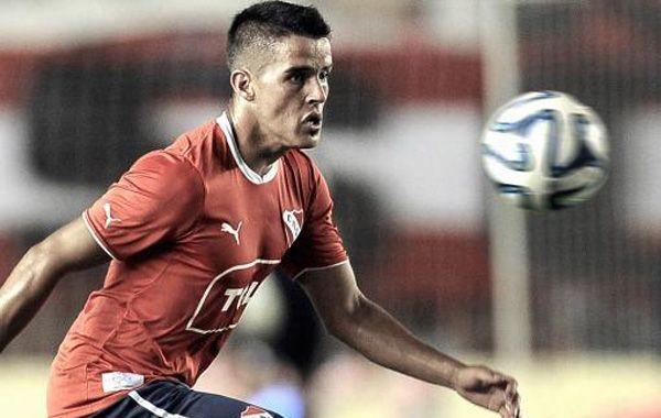 El jugador de Independiente acusado por abuso sexual.