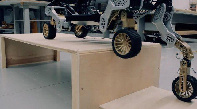 Lanzan un robot autónomo que funciona como transporte sobre ruedas