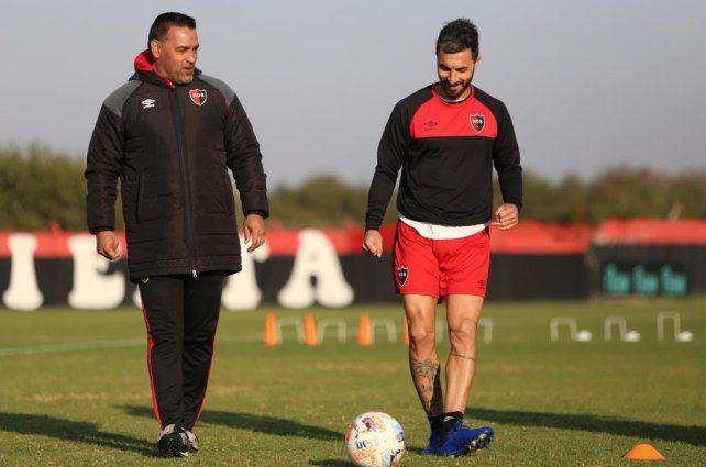 Fernando Gamboa y Nacho Scocco