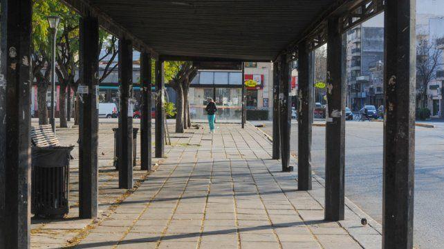 El trabajo más notorio será sobre calle Cafferata para unir la estación de colectivos con el Mercado del Patio.