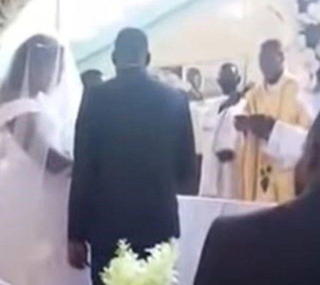 La ceremonia de casamiento