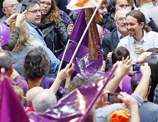 Recta final. El candidato del emergente Podemos al Palacio de La Moncloa