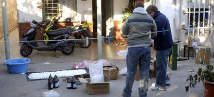 Secuestran cerca de 25 kilos de droga en varios allanamientos