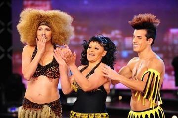 La Negra Moli fue eliminada de Bailando 2011