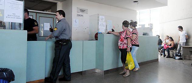 Los centros asistenciales cuentan con la presencia de policía y agentes privados