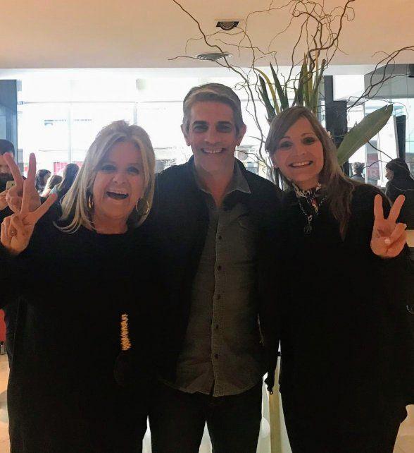 Echarri vino a Rosario para apoyar la candidatura de Alberto Fernández
