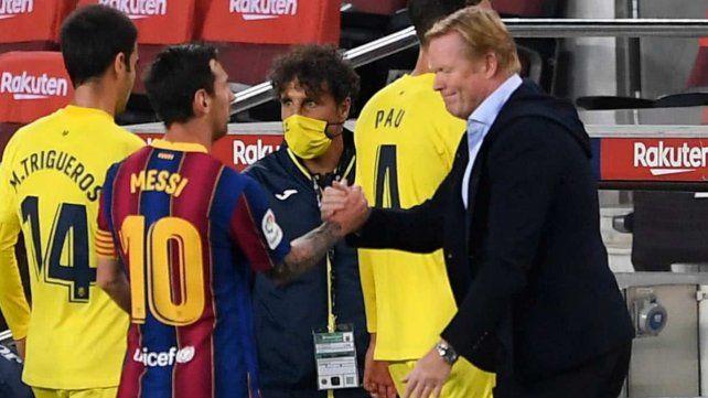 """Messi es el capitán y hablo con él cada semana sobre cosas del campo (de juego) y del vestuario para tener una buena relación"""""""