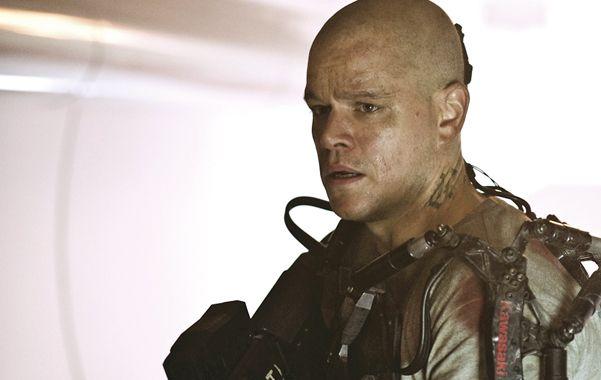 Matt Damon protagoniza la película de ciencia ficción que hoy se estrena en Rosario.