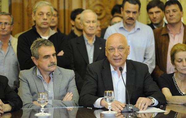 Bonfatti remarcó que seguirá combatiendo el narcotráfico flanqueado por el ministro de Defensa