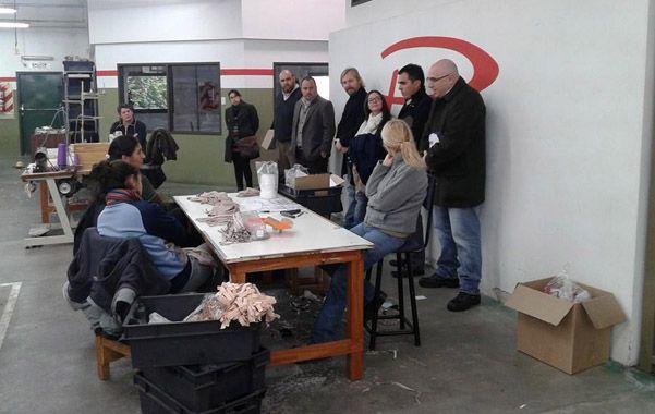En marcha. Tras la quiebra de la textil Plenit los obreros integran una cooperativa.