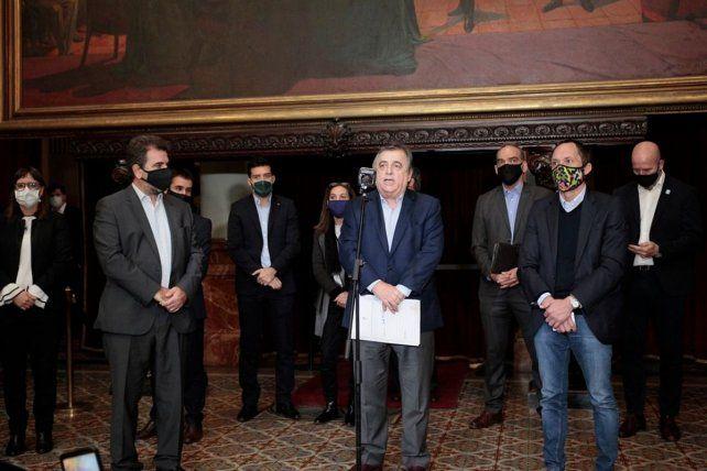 Referentes. El interbloque de Juntos por el Cambio aceptó la propuesta del gobierno y habrá cambios en el cronograma electoral.