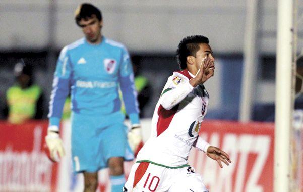 Grito de gol. Uchuari grita con todo el segundo tanto de Liga de Loja.