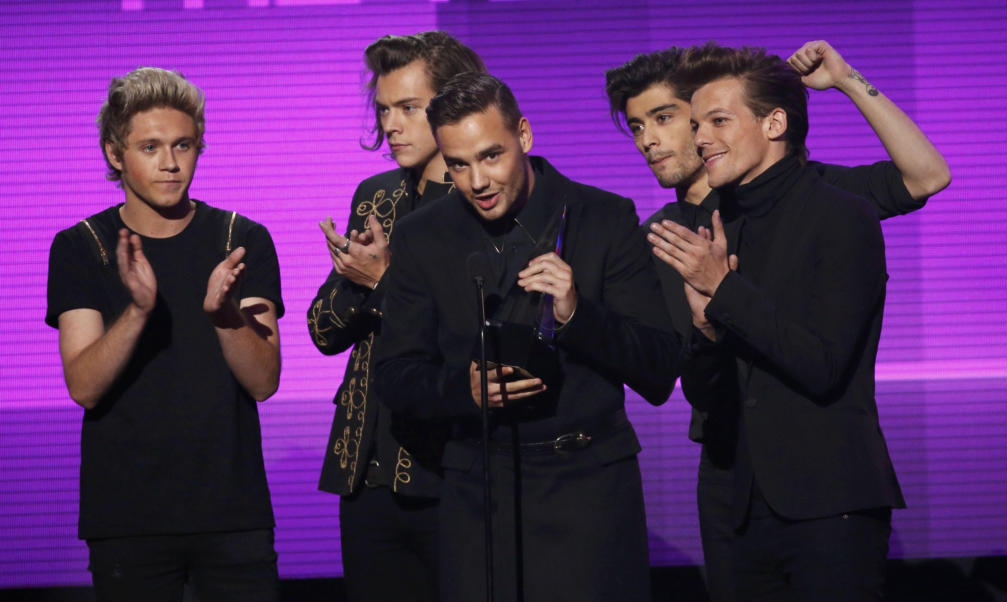 Los One Direction triunfaron en tres categorías: artista del año