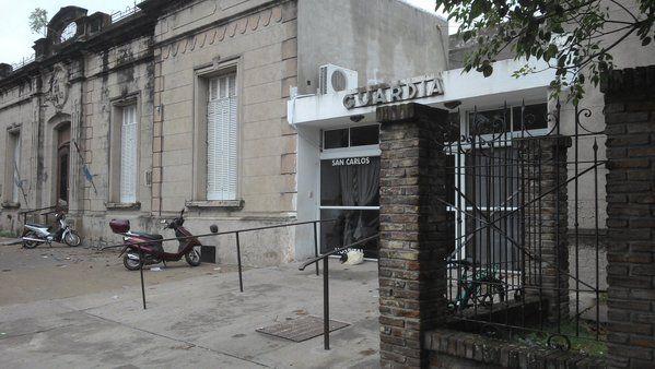 El nene fue atendido en el Hospital San Carlos de Casilda.