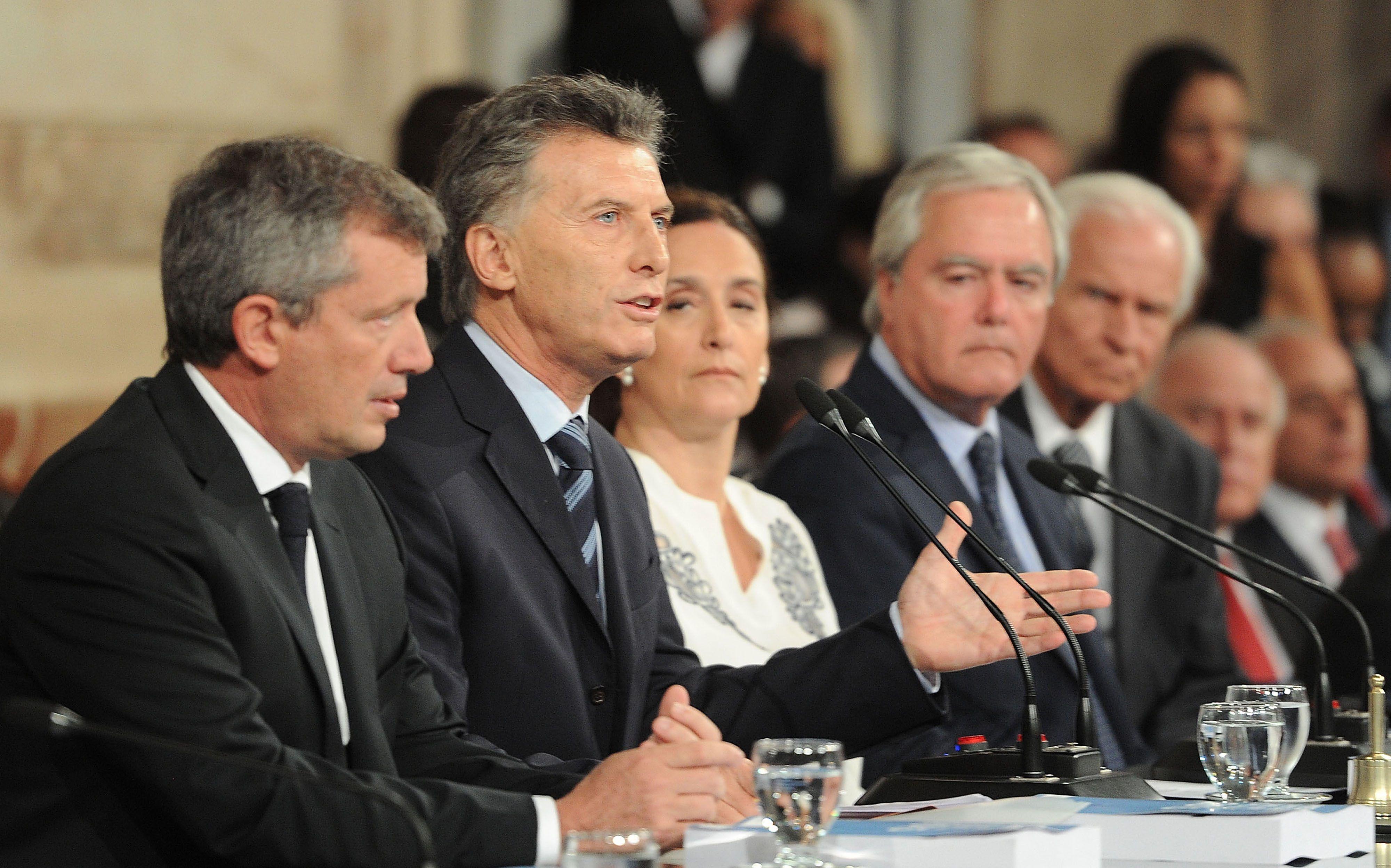 Macri destacó que las fronteras argentinas están virtualmente indefensas. (Foto: Télam)