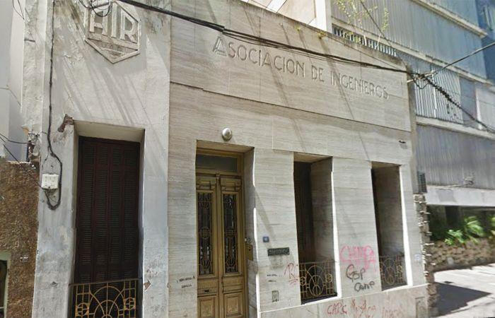 La sede de Laprida al 900. Los delincuentes actuaron con tranquilidad