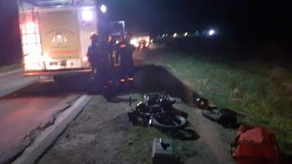 Dos venadenses perdieron la vida en un accidente ocurrido a la altura del kilómetro 359 de la ruta nacional Nº 8.
