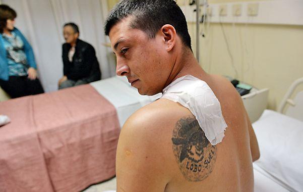 Internado. El joven de 28 años permanece en el sanatorio de Oroño y Zeballos.