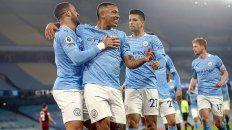 Manchester City goleó 4-1 al Wolverhampton y de esta manera sumó su 15º triunfo consecutivo en la Premier League.